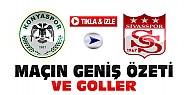 Konyaspor Sivasspor Maç Özeti ve Goller-VİDEO-Tıkla İzle