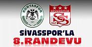 Konyaspor Sivasspor'la 8.Randevusuna Çıkıyor