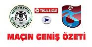 Konyaspor Trabzonspor Maçının Özeti-VİDEO-Tıkla İzle