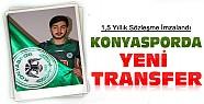 Konyaspor Yeni Transferiyle 1,5 Yıllık Sözleşme İmzaladı