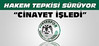 Konyaspor Yönetiminden Hakem Tepkisi