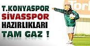 Konyaspor'da Sivasspor Hazırlıkları Devam Ediyor