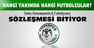 Konyaspordan 8 futbolcunun sözleşmesi sezon sonunda bitiyor