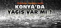 Konya'ya Soğuklar Yeniden Geldi