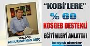 KOSGEB'den KOBİ'lere % 60 Eğitim Desteği