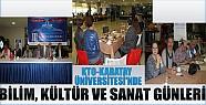 KTO-Karatay Üniversitesi'nde Bilim,Kültür Ve Sanat Günleri