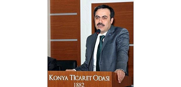 KTO'da Davutoğlu Memnuniyeti