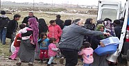 Kulu Devlet Hastanesinden Suriyelilere Yardım