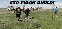 Kulu'da 630 Fidan Dikildi