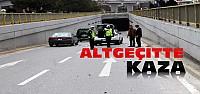 Kunduracılar Köprülü Kavşağında Kaza
