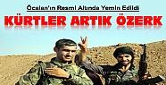 Kürtler Özerkliklerini İlan Etti-Öcalan'ın Resmi Altında Yemin Etti