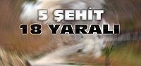 Mardin ve Hakkari'den acı haber:5 şehit