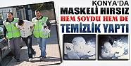 Maskeli Hırsız Temizlik Yaptı Ama Yine de Yakalandı