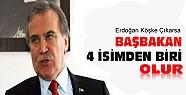 Mehmet Ali Şahin:Başbakan 4 İsimden Biri Olur