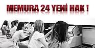 Memura 24 Yeni Hak !