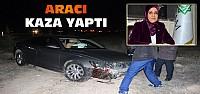 Meram Belediye Başkanı Fatma Toru'nun Aracı Kaza Yaptı