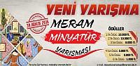 Meram Belediyesinden Ödüllü Minyatür Yarışması