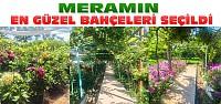 Meramda En Güzel Bahçe Yarışması Sonuçlandı
