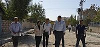 Meram'da Parke Ve Bordür Çalışmaları Sürüyor