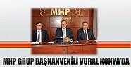 MHP Grup Başkanvekili Vural Konya'da