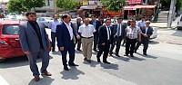MHP Konya'da Yol Kapatma Eylemi