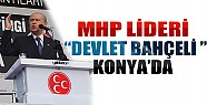MHP Lideri Bahçeli Konya'da