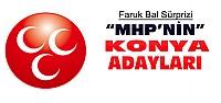 MHP'nin Konya Milletvekili Adayları