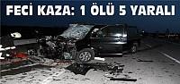 Minibüs TIR'la Çarpıştı: 1 Ölü 5 Yaralı