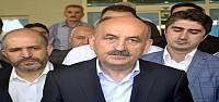 Müezzinoğlu Akşehir'deki Yaralıyı Ziyaret Etti