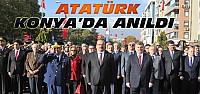 Mustafa Kemal Atatürk Konya'da Anıldı