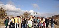 NEÜ Genç Tema Topluluğu'ndan Sağlıklı Yaşam Yürüyüşü