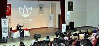 """NÜ'de """"yeni Türkiye Ve Gençlik"""" Konulu  Konferans"""
