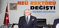 NEÜ'nün Yeni Rektörü Göreve Başladı