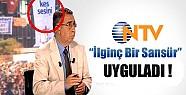NTV'den Dikkat Çeken Sansür