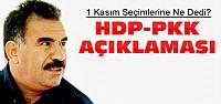 Öcalan'dan 1 Kasım Seçim Sonucu Açıklaması