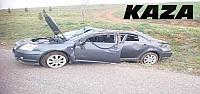 Otomobil Takla Attı:1'i Ağır 2 Yaralı