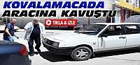 Otomobiline Kovalamaca Sonucu Kavuştu-VİDEO