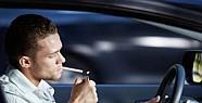 Özel Aracında Sigara İçene de Ceza