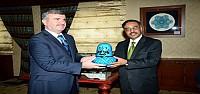 Pakistan Büyükelçisinden Akyürek'e Ziyaret
