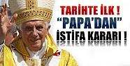Papa İstifa Kararı Aldı !