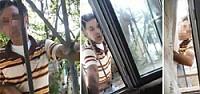 Penceredeki sapık yakalandı!