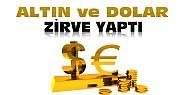 Piyasalarda IŞİD Şoku:Altın ve dolar uçtu