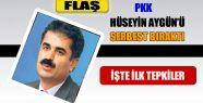PKK Hüseyin Aygün'ü Serbest Bıraktı