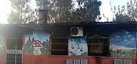 PKK okul yaktı