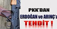 PKK'dan Erdoğan ve Arınç'a Tehdit!