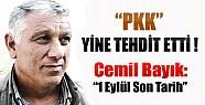 PKK'dan Yine Tehdit !