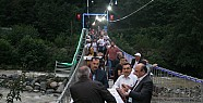 Rize'de Asma Köprüde İftar-Tıkla İzle