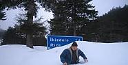 Rize'de Kar 70 cm'yi Aştı