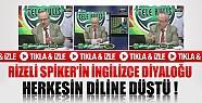 Rizeli Spikerin İngilizce Konuşması İnternette Olay Oldu-Video