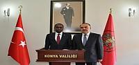 Ruanda Büyükelçisinden Vali Erol'a Ziyaret